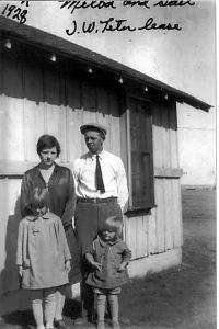 The McGhee family in 1930s Kansas