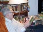 Dad - reading an old favorite