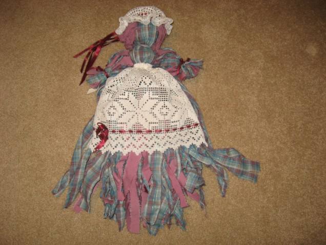 Mom's Prairie Doll