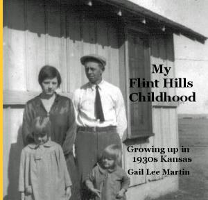 The final cover for My Flint Hills Childhood