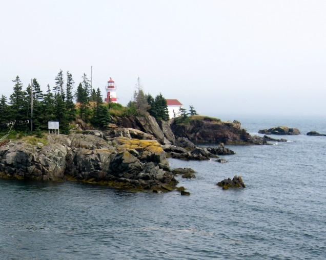 The lighthouse on Campobello Island