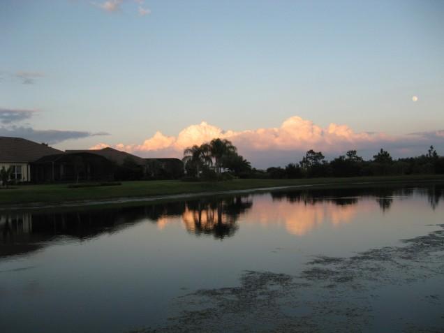Central Florida sunset