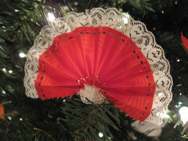 Victorian Fan Ornament