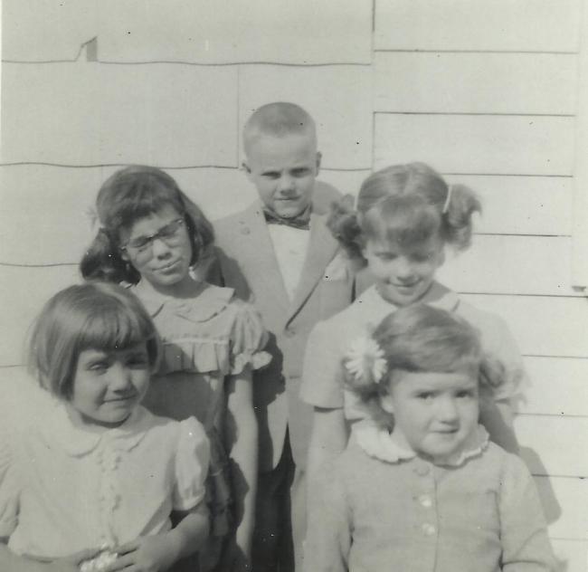 Owen, Susan, Virginia, Cindy, Karen Martin 1950s Image