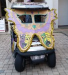 Mardi Gras Golf Cart Parade