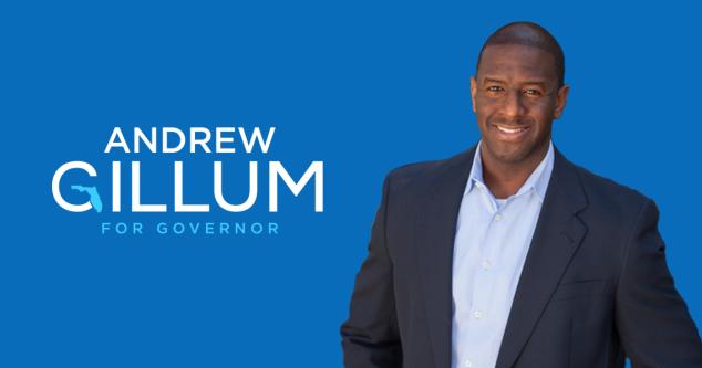 Gillum for governor of Florida