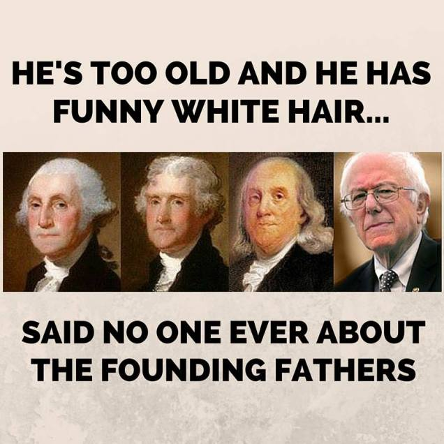 funny hair founding fathers