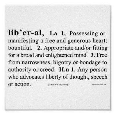 liberal - definition