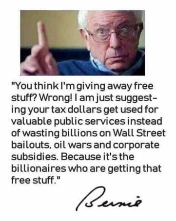 not free stuff, billionaires